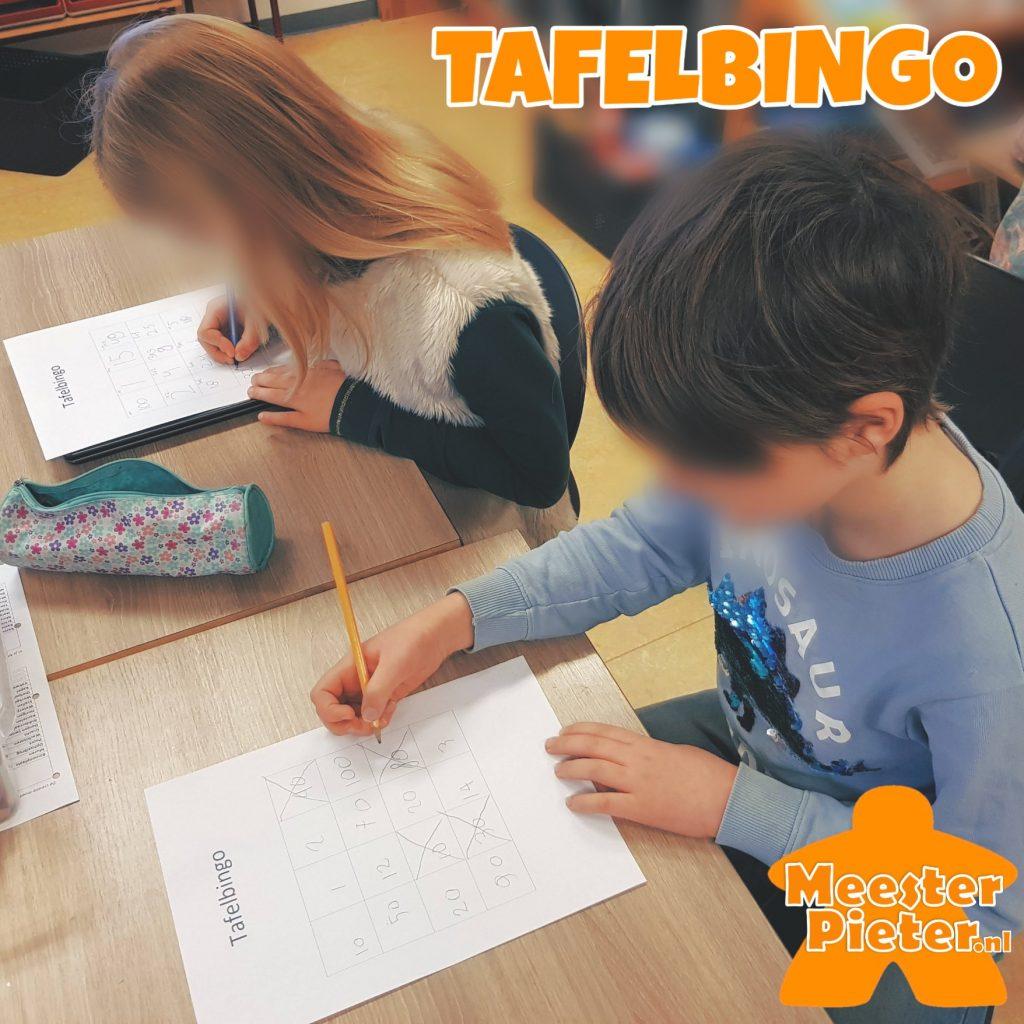 Tafelbingo rekenen tafels