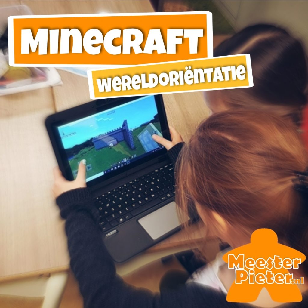 Minecraft Education - wereldoriëntatie