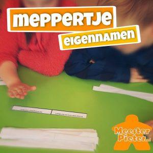 Meppertje - taal spelend leren