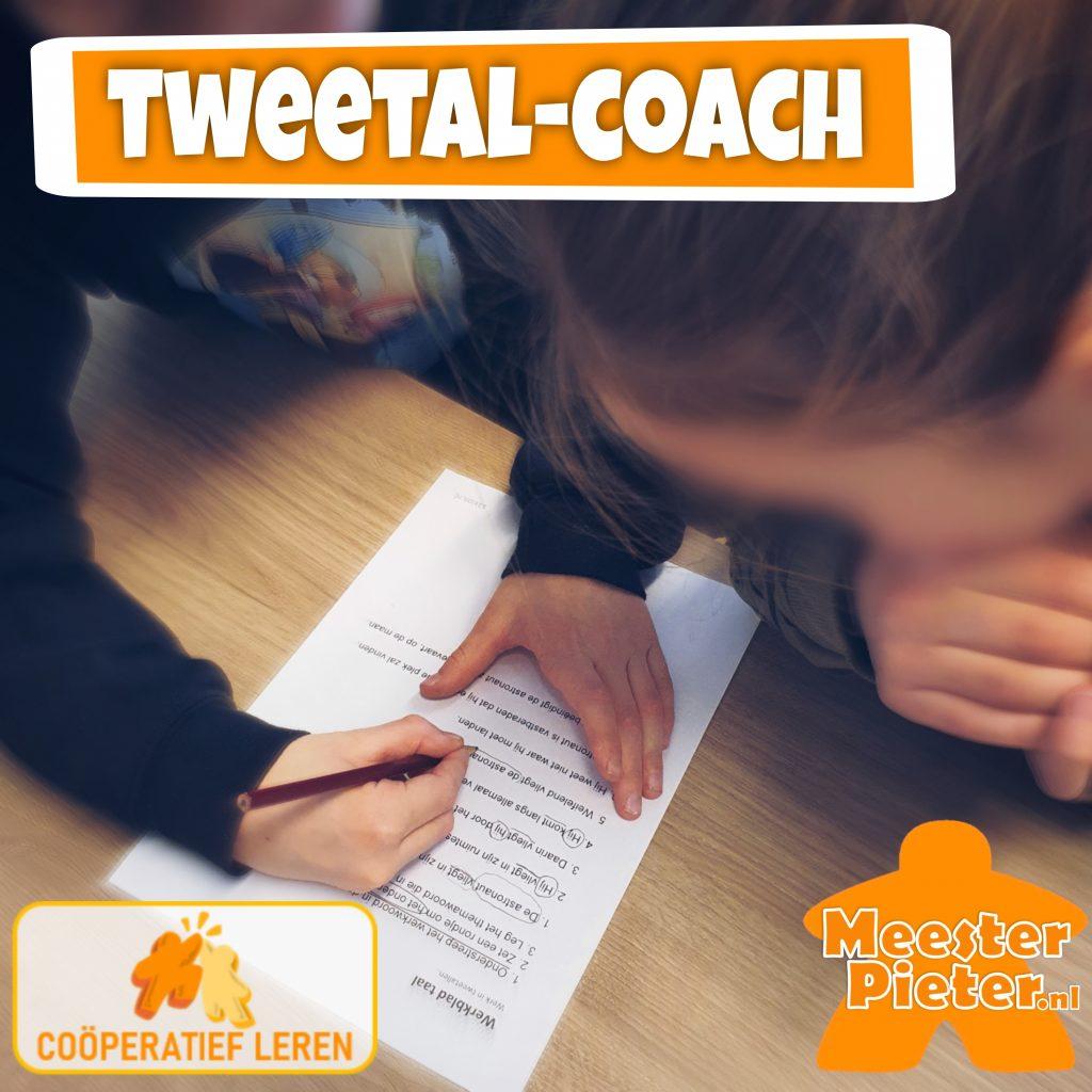 Tweetal-Coach coöperatief leren cooperatieve werkvormen